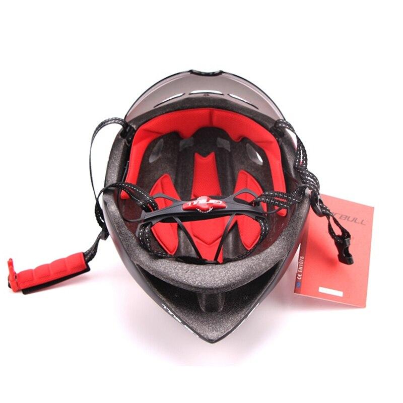 3 lentilles Aero 290g TT lunettes casque de vélo route vélo sport sécurité casque équitation hommes course dans le moule contre la montre cyclisme casques - 6