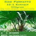 500 gramas de Saw Palmetto Extrato 10:1 Pó frete grátis