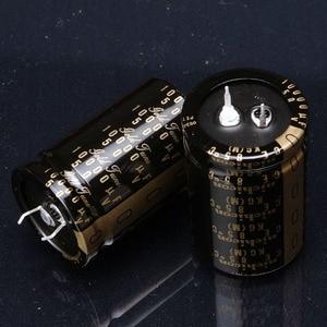 Image 1 - Condensadores de Audio nichicon electrolítico de gran oferta, 2 uds./10 Uds., avanzado KG, Tipo II, 2020 Uf/50V, 35x50MM, Envío Gratis, 10000