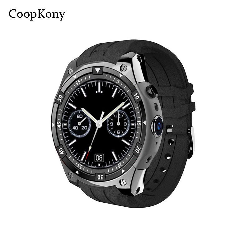 Coopkony Android 5.1 Wifi Smart Watch 3G Call GPS Smart Watch Phone Women Men Waterproof Heart Rate Tracker Alarm Smart Watch rudolf kampf чашка чайная dali с блюдцем 46120425 1001 rudolf kampf
