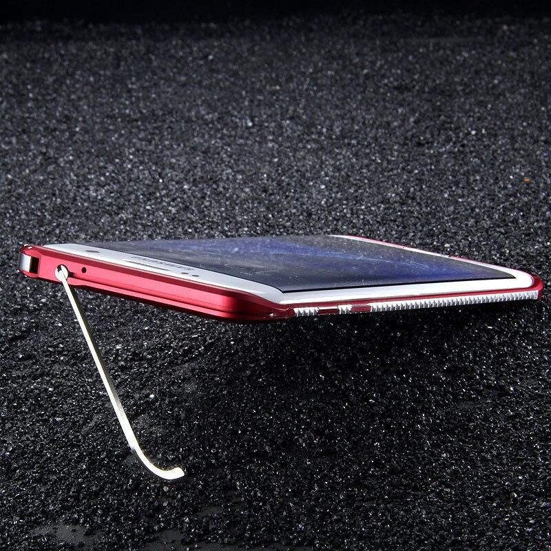 imágenes para IMatch Original Forma De Diamante Delgado de Metal de Aluminio Caso de Parachoques Para Samsung Galaxy S7/S7 Borde Pata de Cabra Teléfono Parachoques de Lujo casos