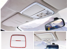 1pcs font b car b font front reading light lamp cover trim For Honda CRV 2012
