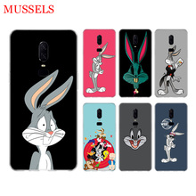 Bugs Bunny Cartoon Phone Back Case for OnePlus 7 Pro 6 6T 5 5T 3 3T 7Pro Art Gift Patterned Customized Cover Coque Capa