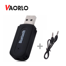 VAORLO Mini font b Portable b font 3 5mm Jack Audio Bluetooth Receiver Wireless USB Music