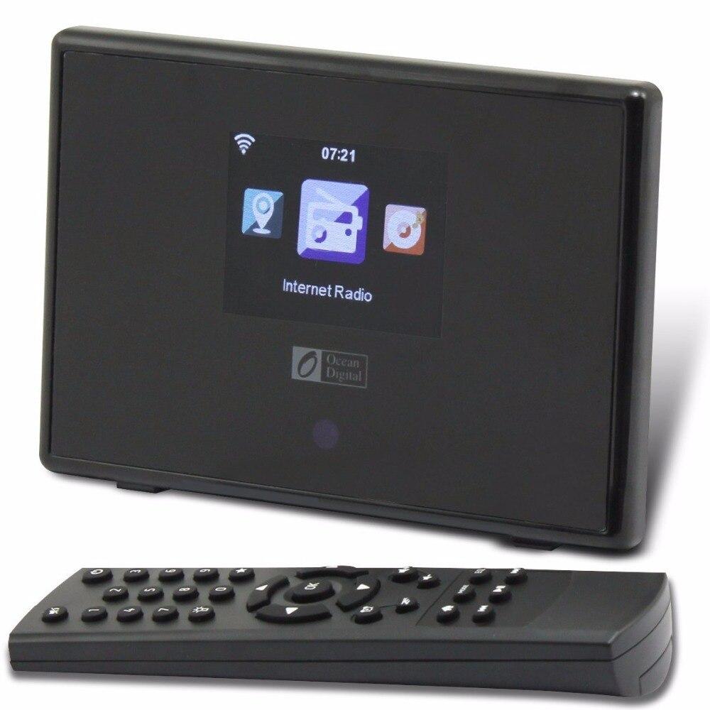 O-001 océano Digital WR-01C WIFI Bluetooth Internet Radio ...