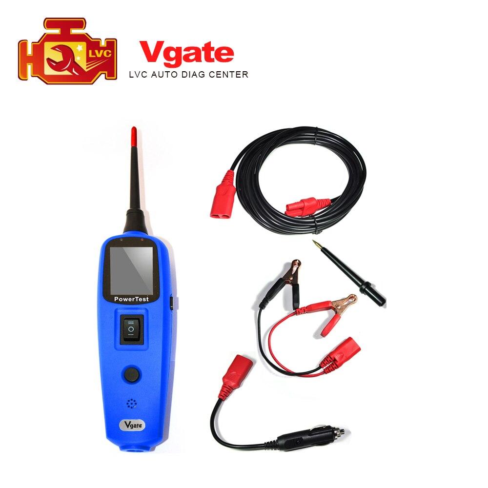 Prix pour 2017 Top Vente D'origine Vgate PowerScan Pt150 Même comme PS100 Système Électrique Outil De Diagnostic Testeur de Circuit livraison gratuite