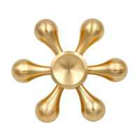 Gold Fidget Spinner Finger Spinner Hand Spinner Brass Spiner Anti Relieve Stress Toys Top Handspinner EDC