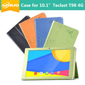 """Alta qualidade Caso capa de Couro Para teclast 10.1 """"t98 4g 10.1"""" Tablet PC, nova capa para teclast 10.1 polegadas T98 4G NÃO para 9.7"""""""