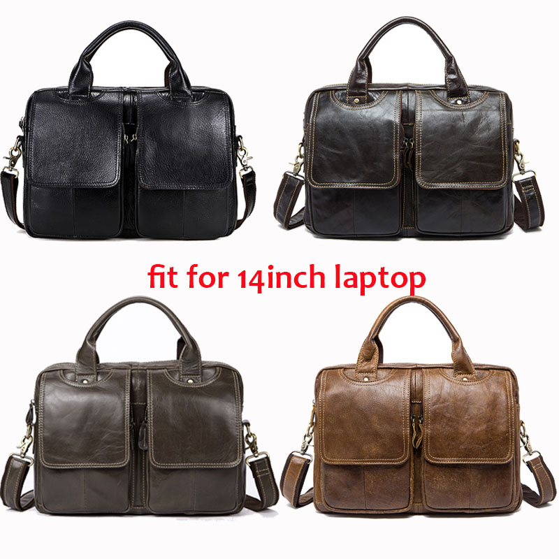Image 3 - WESTAL men briefcases messenger bag men leather laptop bag for a4 document office bags for man totes lawyer male briefcase 8002-in Briefcases from Luggage & Bags