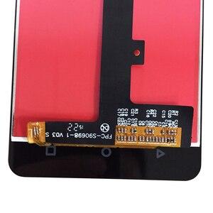 Image 5 - 4,5 zoll Für BQ Aquaris M 4,5 LCD Display Touch Screen Montage Zubehör Glas panel Für Aquaris M 4,5 touch Panel Reparatur kit