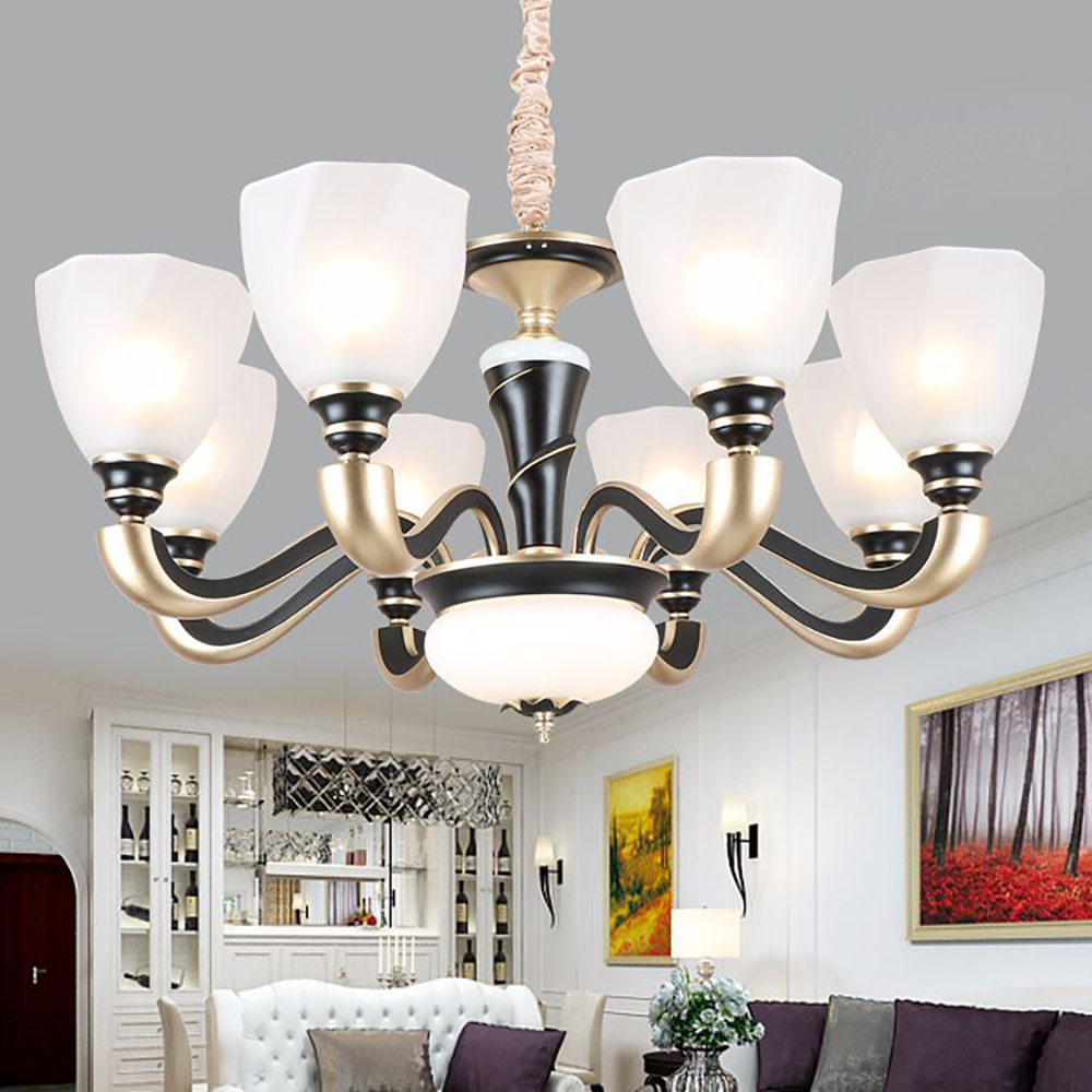 Beautiful Atmospheric Delicate Round Ceiling LED Light Art ...