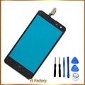 4.7 ''negro teléfono móvil del panel de tacto para nokia lumia 625 n625 touch sensor touchpad pantalla táctil de cristal frontal de la pantalla + herramientas gratuitas
