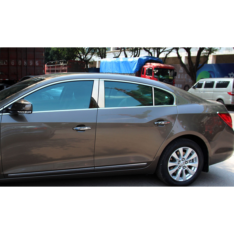 2013 Buick Lacross: Lsrtw2017 304 Stainless Steel Car Window Trims For Buick