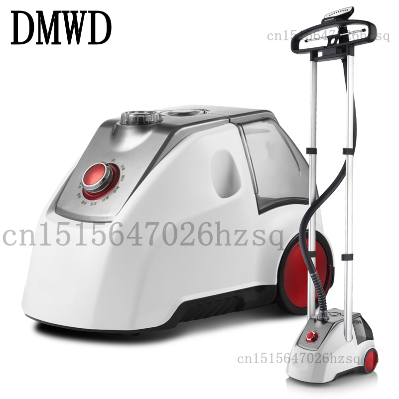 DMWD Household Garment Steamers 2000W big power 2.5L capacity ironing machine for clothes with Garment Hanger