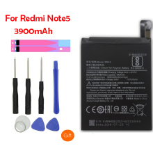 QrxPower Original BN45 Replacement Battery For Xiaomi Redmi Note 5 Real Capacity 3900mAh Li-ion Phone + Tool