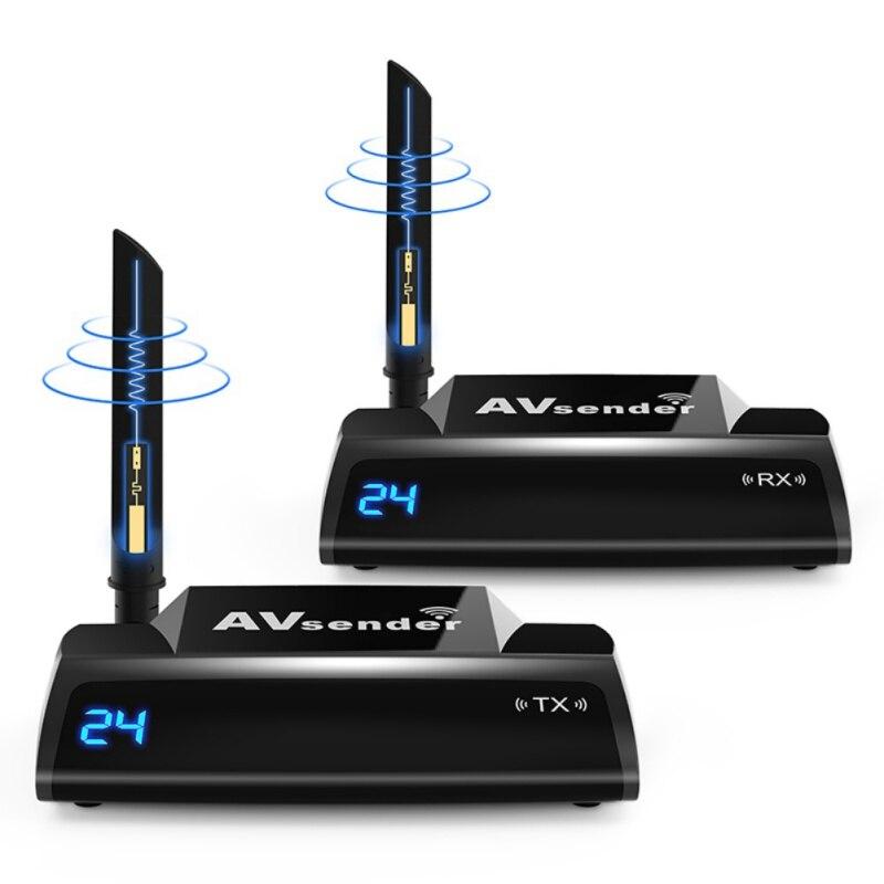 PAT-580 5.8G HDMI576P décodeur intelligent dispositif de partage à Distance vérifier la Source de Signal HDMI 200m Distance de Transmission