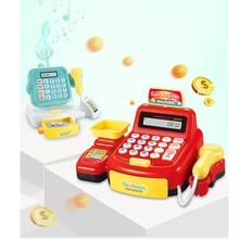 Baby Simulation Cash Register Toy Light