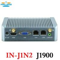 Partaker Mini Nano PC Intel Quad Core J1900 với hỗ trợ Wake on LAN PXE Cơ Quan Giám Sát 3 Gam GPIO
