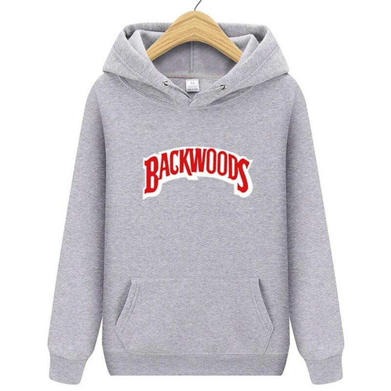 Fashion 2019 New Hoodie Men's Autumn And Winter Hip Hop Hoodie Pullover Streetwear Backwoods Hoodie Sweatshirt Clothing
