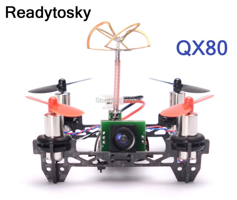 NEW Tiny QX80 Indoor Carbon Fiber Super Light Quadcopter Frame w/ 8520 motors w/ F3 EVO V2.0 Brush Flight Controller super light tiny qx80 80mm mini 4 axle