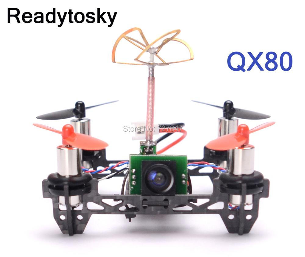 NEW Tiny QX80 Indoor Carbon Fiber Super Light Quadcopter Frame w/ 8520 motors w/ F3 EVO V2.0 Brush Flight Controller salmo tiny f