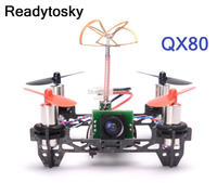 NEW Tiny QX80 Indoor Carbon Fiber Super Light Quadcopter Frame W 8520 Motors W F3 EVO