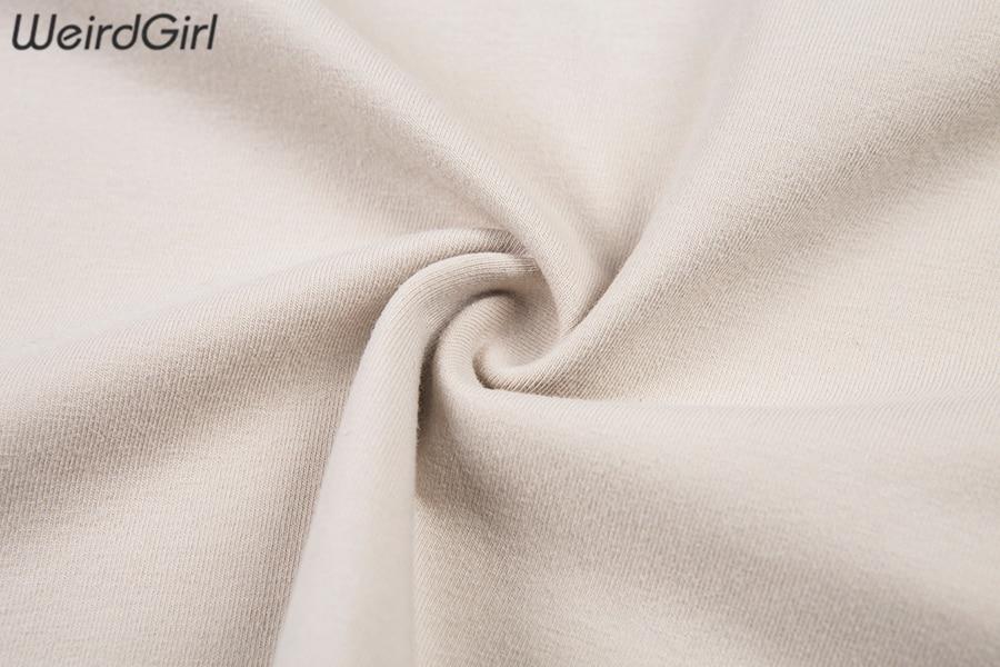 Weirdgirl Women Baby Angel Printing Casual Fashion T-shirts letter Short Sleeve O-Neck Khaki Loose Female Tees Summer New 19 13