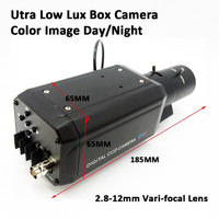 Sony CCD 700TVL 2.8 12mm Vafi focal lens Super Low light Box OSD Camera Color iamge Day/Night Analog CCTV Camera Built in SSNR