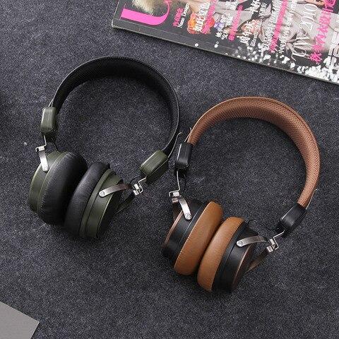 Fones de Ouvido Estéreo sem Fio Fone de Ouvido com Microfone para o Telefone Kapcice Bluetooth Ml700 & pc