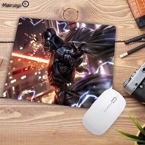 Image 4 - Mairuige 22X18CM promocja rosja darth Vader Vintage High Speed podkładka pod mysz podkładka pod mysz do gier podkładka pod mysz klawiatura