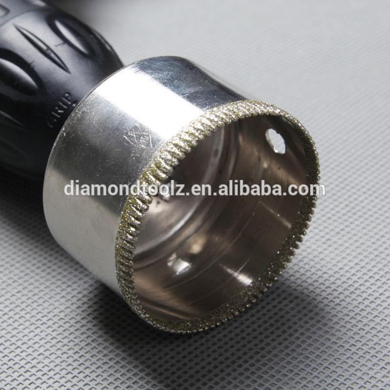 Talentool 75 mm-es kézi szerszámok üveggyűrűs gyémántfuratos - Fúrófej - Fénykép 3