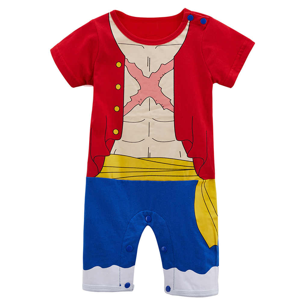 Baby Neugeborene Goku Nette Kleidung Infant Spiderman Overall Overall Bebe Toddle Hulk Thor Cosplay Partei Eine Piecer