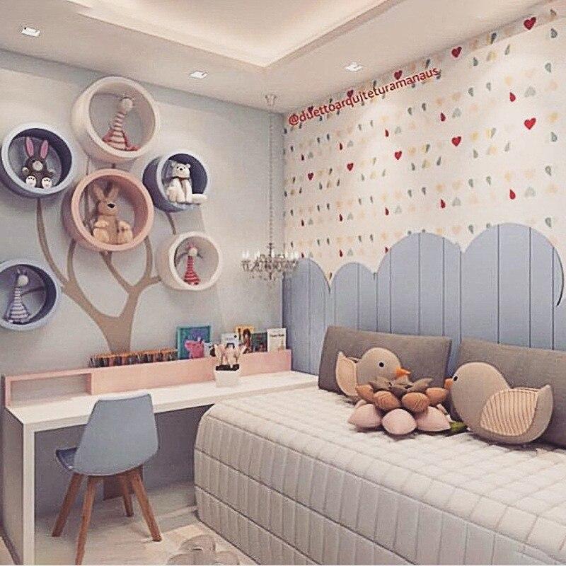 Wooden Round Floating Shelf Round Organizer Home Storage Display Rack Holder Shelf Wall Decor