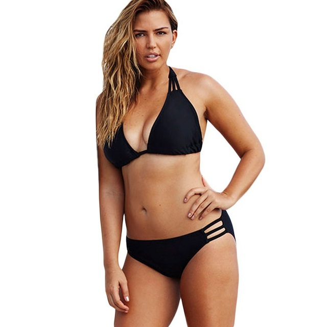 141f5e7efd Hot 2015 Plus Size Bikini set Large Cup for Big Womens Big Size String  Swimwear up to 4XL Low waist Bikinis Top Quality