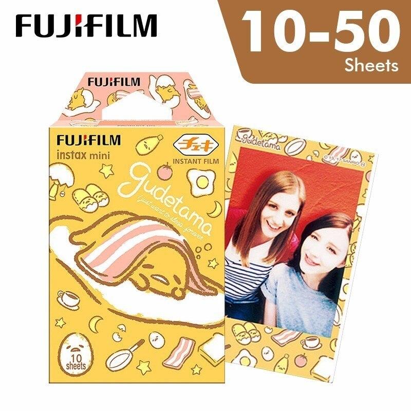 Nieuwe Aankomst Fujifilm Instax Mini 8 Fuji Film Gudetama Voor Polaroid Mini 7 S 8 9 9 50 70 90 25 Delen Sp-2 Instant Camera