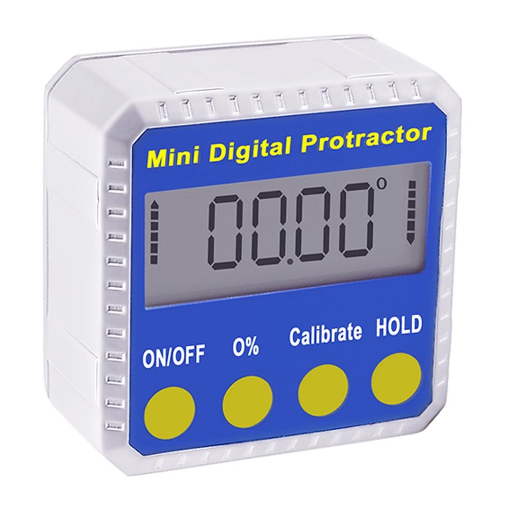 Digitale Hoekmeter Inclinometer Gauge Meter 4x90 Graden Bereik Met Magnetische Base Industriële Bouw Gebruik Tool