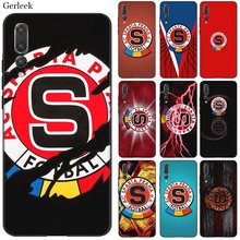 Desxz Silicone Cell Phone Case Painting Sparta Prague Football Logo For Huawei Honor 7A 7C 7X 8 8X 8C 9 Note 10 Lite Cover(China)
