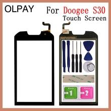 AAA OLPAY 5,0 ''Переднее стекло для телефона Doogee S30 S 30 сенсорный экран стекло дигитайзер панель объектив сенсор инструменты Бесплатный клей+ салфетки
