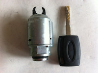 1 Set Car Hood Latch Lock Bonnet Lock With Key For Ford Focus 2005 2013