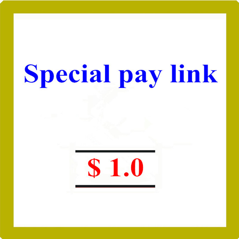Special pay link  Please don't pay it if we do not allowe