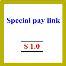 Специальная платежная ссылка, пожалуйста, не платите, если мы не допустим