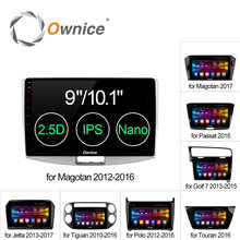 Ownice 10.1″/9″ Android 6.0 Octa 8 Core For VW Magotan POLO PASSAT Golf 7/R Tiguan Touran Jetta Car radio Player Navi DVD 2G/32G