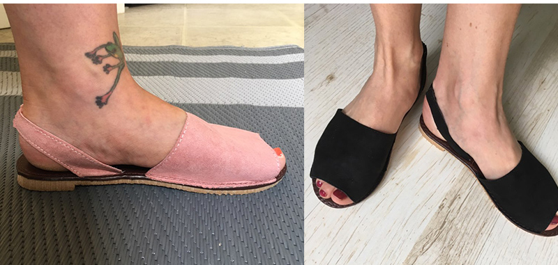 HTB1iTNqXifrK1RjSspbq6A4pFXaD MCCKLE Summer Sandals Women Plus Size Flats Female Casual Peep Toe Shoes Faux Suede Slip On Elastic Band Leisure Solid Footwear