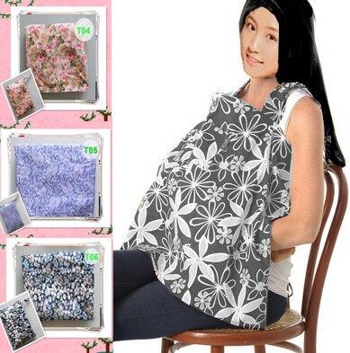 100%cotton  Nursing Privacy Nursing Cover Canopy nursing Shawl breast feeding Wrap Covers   breastfeeding  top with pocket