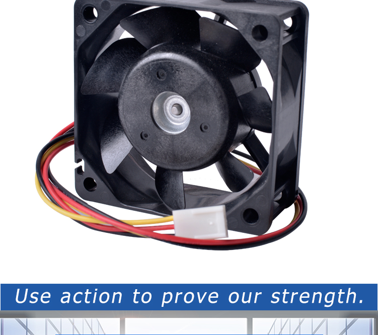 Japanese sanyo brand 109R0612J401 60mm fan 6025 60x60x25mm 12V 0.47A Double ball bearing large air volume cooling fan