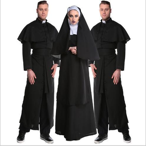 Монахиня с мужчиной 1 фотография