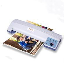 Холодная/горячая пластиковая запайка ламинатор А4 Фото пластиковая машина офисная пленка пресс файл ламинатор r20
