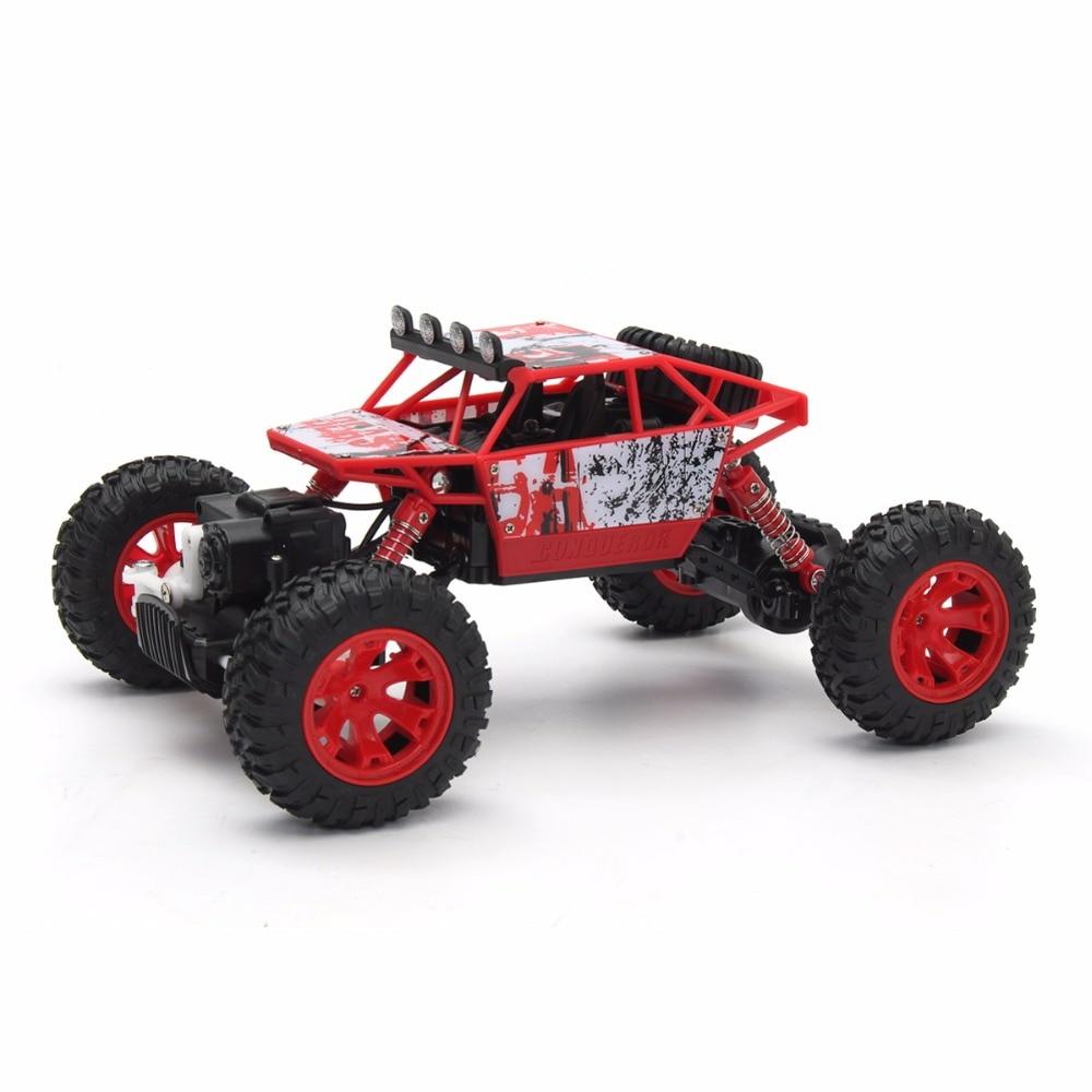 1/18 2.4G 4WD RC Racing Mașină dublă cu motor Buggy Rock Crawler - Jucării cu telecomandă