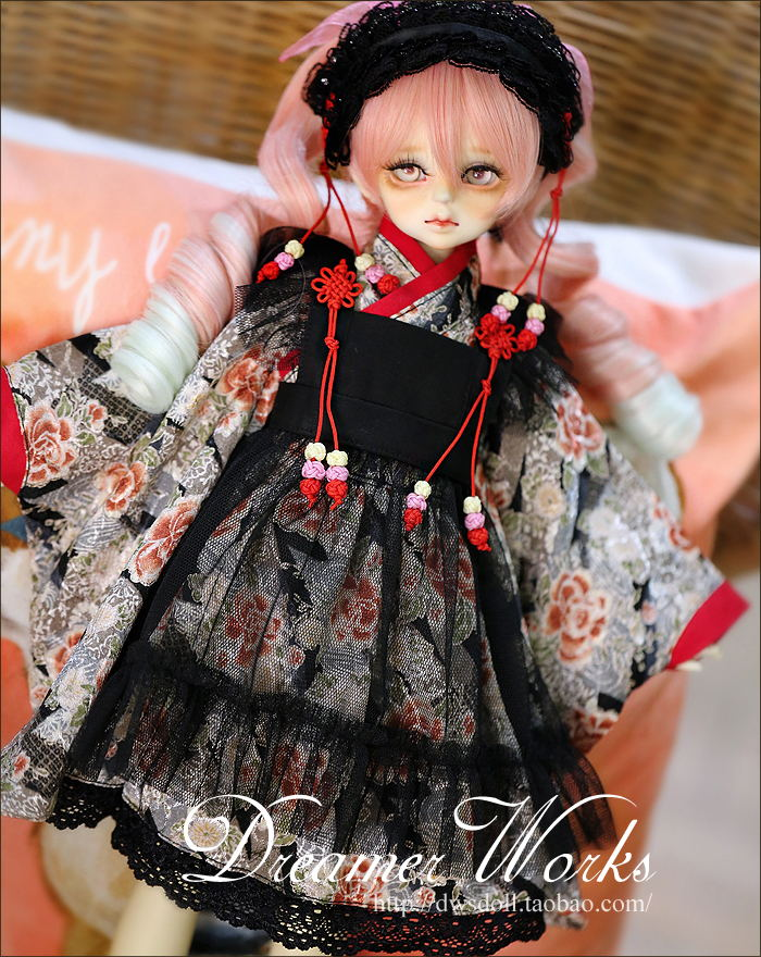1/4 scale BJD doll clothing Maid bathrobe uniform for BJD/SD accessory.Not included doll,shoes,wig and other 17C3339