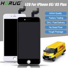 Хорошее HORUG 10 шт. DHL AAAA 100% оригинал Экран ЖК-дисплей для iPhone 6 S плюс ЖК-дисплей Замена Дисплей Touch 6 S плюс Экран ЖК-дисплей S